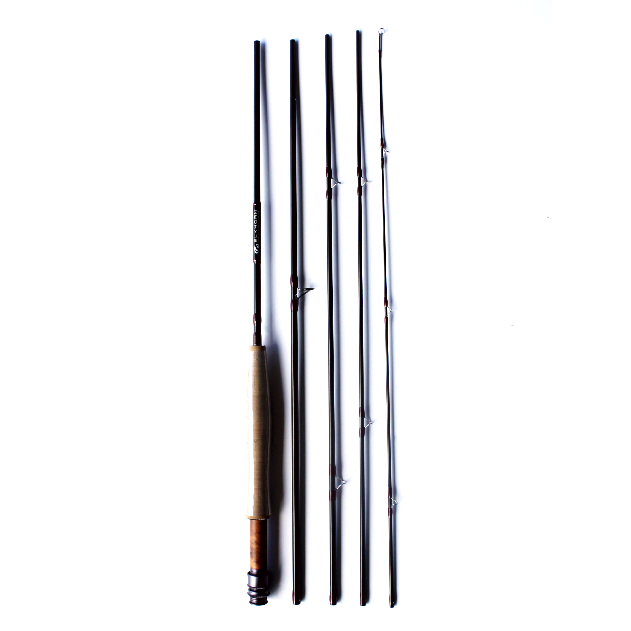 ELKHORN'S 5X SERIES FLY RODS-black
