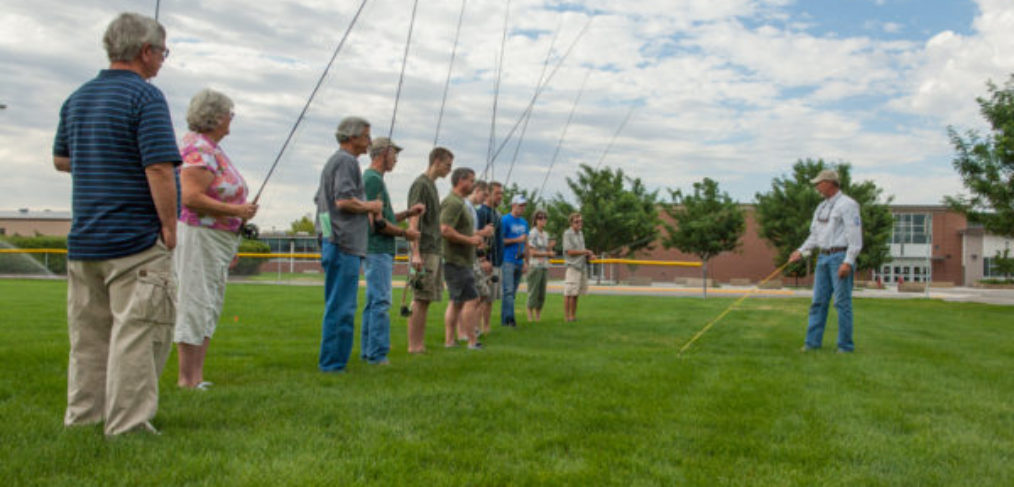 Flycasting clinic intermediate flycasters elkhorn fly for Fly fishing classes