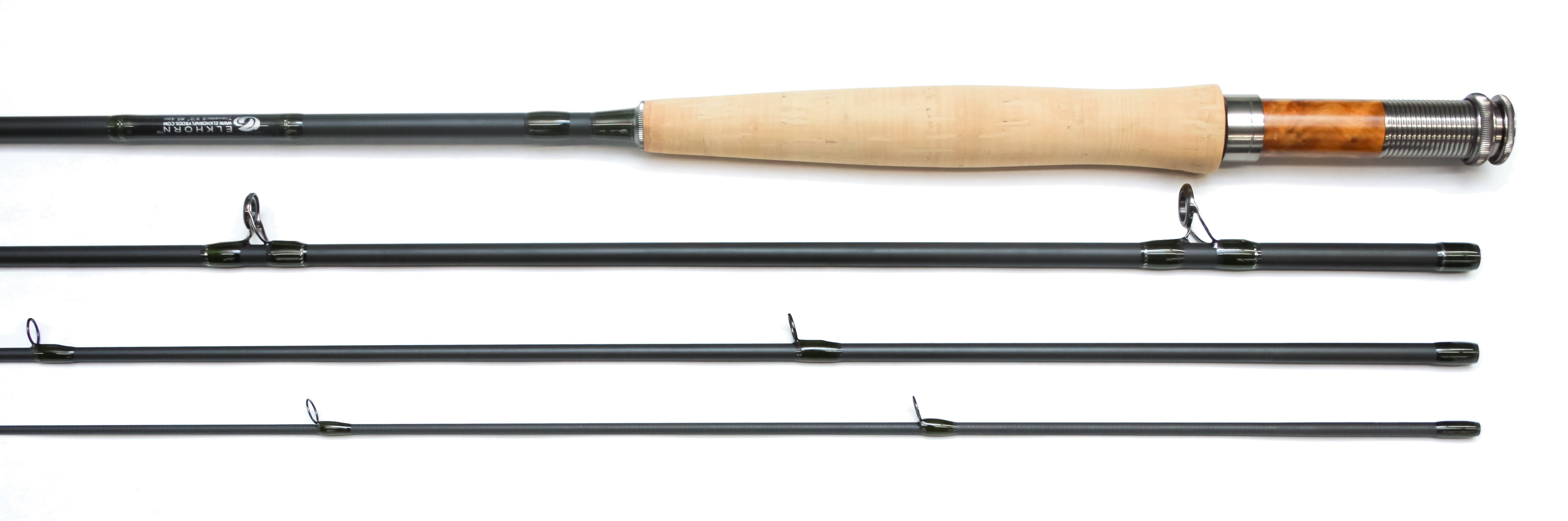 Elkhorn traveler ii series fly rod elkhorn fly rod and reel for Trout fishing rod and reel